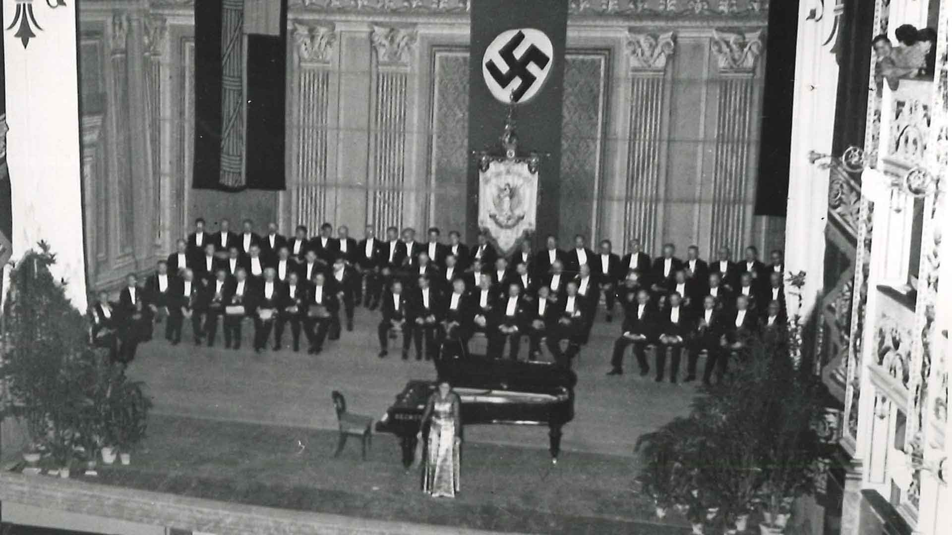German concert at the Teatro Comunale, 1942 (ISRT)